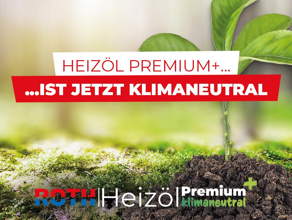 Heizöl Premium + klimaneutral